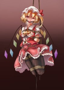 Rating: Explicit Score: 14 Tags: bondage breasts flandre_scarlet langhh nipples no_bra open_shirt pantyhose pussy_juice skirt_lift torn_clothes touhou wet_clothes wings User: BD_Love