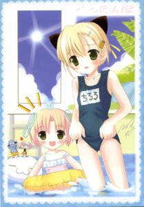 Rating: Questionable Score: 8 Tags: posh school_swimsuit swimsuits User: petopeto