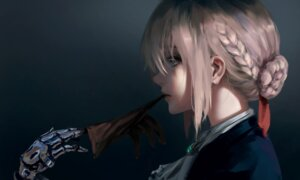 Rating: Safe Score: 67 Tags: mecha_musume violet_evergarden violet_evergarden_(character) wlop User: Timberlake_loli