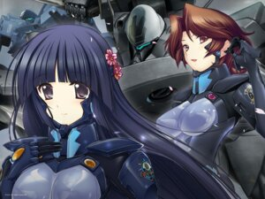 Rating: Questionable Score: 26 Tags: bodysuit erect_nipples isumi_michiru jpeg_artifacts mecha muvluv muvluv_alternative_chronicles sendou_yuzuka sword wallpaper User: WhiteExecutor