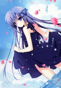 Rating: Safe Score: 104 Tags: dress heart-work skirt_lift suzuhira_hiro User: WtfCakes