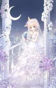 Rating: Safe Score: 19 Tags: cleavage danby_meron dress wedding_dress User: BattlequeenYume