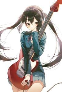 Rating: Safe Score: 25 Tags: guitar k-on! nakano_azusa pro-p seifuku User: Dreista