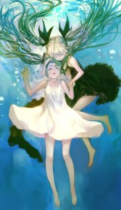 Rating: Safe Score: 26 Tags: dress hatsune_miku shinkai_shoujo_(vocaloid) summer_dress vocaloid zrero User: animeprincess