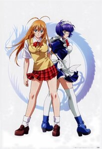 Rating: Safe Score: 23 Tags: eyepatch ikkitousen ikkitousen~dragon_destiny~ rin_sin ryomou_shimei scanning_resolution seifuku sonsaku_hakufu thighhighs User: YamatoBomber