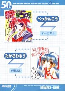 Rating: Safe Score: 2 Tags: amagasaki_mikoto august bekkankou takasawa_ruu tsuki_wa_higashi_ni_hi_wa_nishi_ni User: noirblack