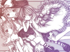 Rating: Safe Score: 6 Tags: alice_margatroid kasuga_sunao kirisame_marisa patchouli_knowledge touhou User: konstargirl