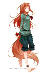 Rating: Safe Score: 42 Tags: animal_ears ayakura_juu holo spice_and_wolf tail User: Radioactive