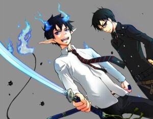 Rating: Safe Score: 8 Tags: ao_no_exorcist male okumura_rin okumura_yukio to_riku User: Radioactive