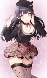 Rating: Safe Score: 47 Tags: arjent cleavage mayuzumi_fuyuko the_idolm@ster the_idolm@ster_shiny_colors thighhighs User: Arsy