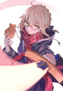 Rating: Safe Score: 22 Tags: 100percent fate/grand_order heroine_x_alter megane seifuku sword User: Spidey