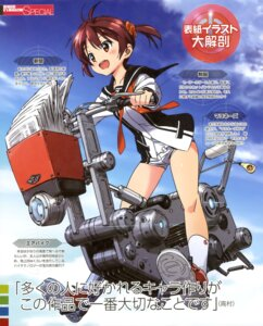 Rating: Safe Score: 25 Tags: buruma isshiki_akane seifuku vividred_operation User: dansetone
