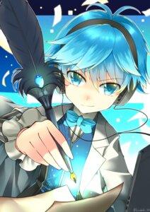 Rating: Safe Score: 13 Tags: caster_(fate/extra_ccc) fate/extra fate/extra_ccc fate/grand_order fate/stay_night headphones kotobuki_(momoko_factory) male User: hinatahyuga