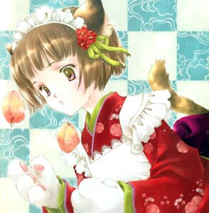 Rating: Safe Score: 6 Tags: animal_ears japanese_clothes minakami_kaori nekomimi yukata User: Davison