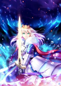 Rating: Safe Score: 44 Tags: armor dress fate/grand_order fate/stay_night saber saber_ruri sword User: charunetra