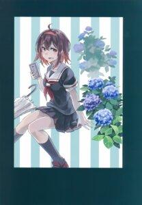 Rating: Safe Score: 7 Tags: kantai_collection seifuku shiratsuyu_(kancolle) tagme umbrella User: kiyoe