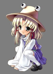 Rating: Safe Score: 10 Tags: marukata moriya_suwako thighhighs touhou transparent_png User: charunetra