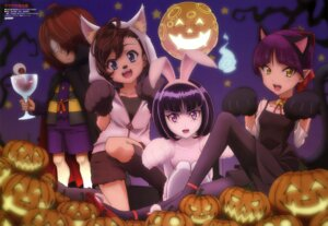 Rating: Safe Score: 25 Tags: animal_ears bunny_ears dress gegege_no_kitaro halloween hanako-san inuyama_mana kitarou neko_musume nekomimi pantyhose pointy_ears shimizu_sorato tail User: drop