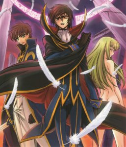 Rating: Questionable Score: 24 Tags: c.c. code_geass kimura_takahiro kururugi_suzaku lelouch_lamperouge naked ricca User: Aurelia