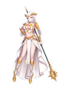 Rating: Safe Score: 10 Tags: armor cleavage greem_bang no_bra weapon User: saemonnokami