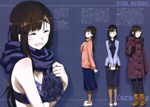 Rating: Questionable Score: 22 Tags: bra business_suit cleavage kurashima_tomoyasu megane toba_minami yurucamp User: drop