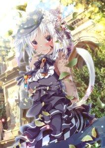Rating: Safe Score: 17 Tags: animal_ears dress final_fantasy final_fantasy_xiv miqo'te nekomimi tagme tail User: BattlequeenYume