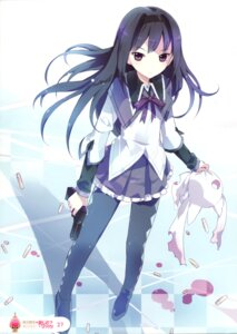 Rating: Safe Score: 54 Tags: akemi_homura blood gun kyubey pantyhose puella_magi_madoka_magica tiru User: Radioactive