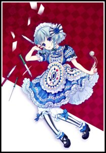 Rating: Safe Score: 16 Tags: amo dress izayoi_sakuya lolita_fashion touhou User: blooregardo
