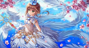Rating: Safe Score: 21 Tags: card_captor_sakura dress ecu8080 kinomoto_sakura weapon wings User: Dreista