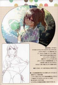 Rating: Safe Score: 13 Tags: futaba_rio mizoguchi_keiji ntype sakurajima_mai seishun_buta_yarou_series yukata User: kiyoe