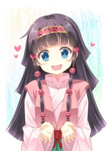 Rating: Safe Score: 35 Tags: alluka_zaoldyeck hunter_x_hunter hyuuga_azuri miko User: DarkRoseofHell