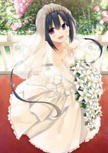Rating: Safe Score: 46 Tags: cura dress hayase_fukami lose maitetsu wedding_dress User: Twinsenzw