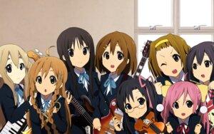 Rating: Safe Score: 32 Tags: akiyama_mio crossover culture_japan guitar hirasawa_yui hoshikawa_kanata k-on! kotobuki_tsumugi megane nakano_azusa seifuku suenaga_haruka suenaga_mirai tainaka_ritsu User: Radioactive