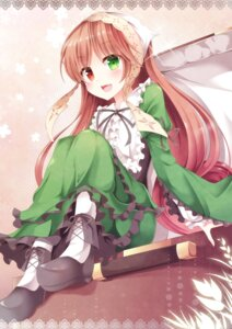 Rating: Safe Score: 32 Tags: dress heterochromia pen-zin rozen_maiden suiseiseki User: KazukiNanako