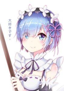 Rating: Safe Score: 51 Tags: cleavage maid re_zero_kara_hajimeru_isekai_seikatsu rem_(re_zero) sylphine_(artist) User: sylver650