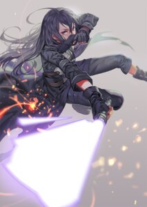 Rating: Safe Score: 48 Tags: alphonse gun gun_gale_online kirito male sword sword_art_online User: zero|fade