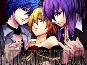 Rating: Safe Score: 14 Tags: crossdress imitation_black_(vocaloid) kagamine_len kaito kamui_gakupo male trap tsubaki_ki vocaloid wallpaper User: charunetra