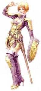 Rating: Safe Score: 13 Tags: armor sword thighhighs yamashita_shunya User: DLS84