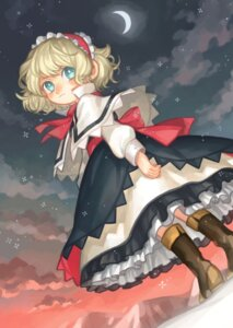 Rating: Safe Score: 9 Tags: alice_margatroid dress touhou usudaidai User: Mr_GT