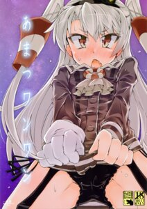 Rating: Questionable Score: 14 Tags: amatsukaze_(kancolle) kantai_collection loli narumiya pantsu seifuku stockings string_panties thighhighs User: Radioactive