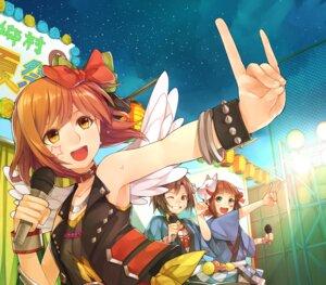 Rating: Safe Score: 15 Tags: amami_haruka hagiwara_yukiho hitoto kikuchi_makoto the_idolm@ster User: animeprincess