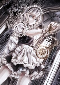 Rating: Safe Score: 35 Tags: izayoi_sakuya jan_(hussar) maid touhou weapon User: Mr_GT
