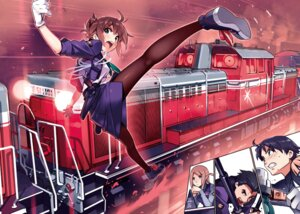 Rating: Safe Score: 21 Tags: gun pantyhose rail_wars! tagme uniform vania600 weapon User: kiyoe