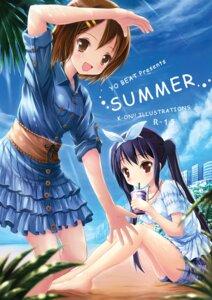 Rating: Safe Score: 14 Tags: hirasawa_yui k-on! nakano_azusa syakatan User: fairyren