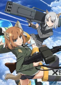 Rating: Safe Score: 21 Tags: animal_ears ass brave_witches gun pantsu tail takamura_kazuhiro uniform weapon User: saemonnokami