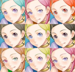 Rating: Safe Score: 12 Tags: anemone blood eureka eureka_seven heterochromia User: Radioactive