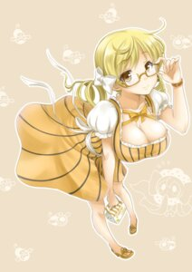 Rating: Safe Score: 47 Tags: cleavage megane okitakung puella_magi_madoka_magica tomoe_mami User: Mr_GT
