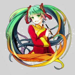 Rating: Safe Score: 31 Tags: asian_clothes hatsune_miku scarlet_moon vocaloid User: charunetra