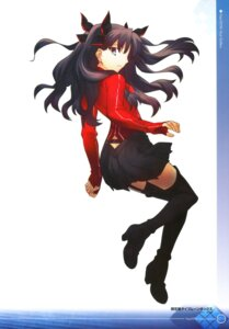 Rating: Safe Score: 35 Tags: fate/extra fate/stay_night heels takeuchi_takashi thighhighs toosaka_rin type-moon User: Radioactive