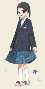 Rating: Safe Score: 7 Tags: kumanoi_(nichols) seifuku skirt_lift User: Radioactive